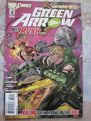 GREEN ARROW 3  by Krul & Jurgens & George Perez. DC THE NEW 52. 2012