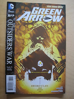 Green Arrow  30.  Dc The New 52. 2014