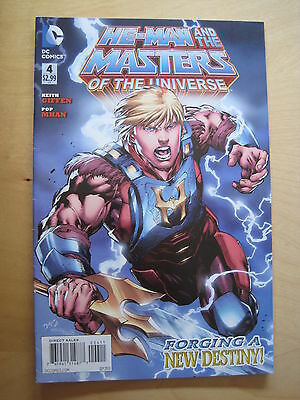 HE - MAN & the MASTERS of the UNIVERSE 4.1st PRINT.DC THE NEW 52. 2012