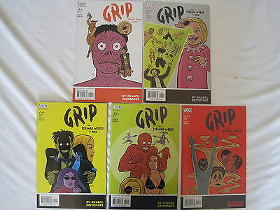 GRIP, the STRANGE WORLD of MEN  : COMPLETE 5 ISSUE SERIES.  DC VERTIGO.2002