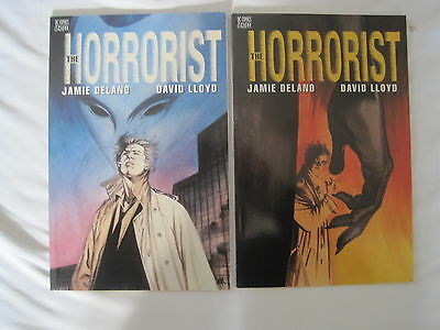 HELLBLAZER : THE HORRORIST :COMPLETE 2 issue series by JAMIE DELANO, DAVID LLOYD