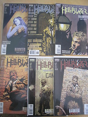 "Hellblazer 134,135,136,137,138,139 ""haunted"",complete 6 Part Story. 1999.vertigo"