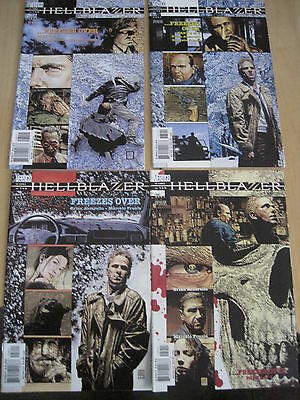 "Hellblazer 158,159,160,161 ""freezes Over"", Complete 4 Part Story. 2001.vertigo"