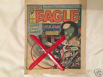 Eagle October 1983  Rare Copy With Original Space Spinner Free Gift