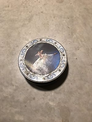 Collectable Round Tin With Ballerina On It