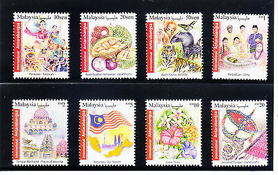 MALAYSIA 2016 New International Stamps 8v from 10s-RM20. BUY-IT-NOW at US$9.50