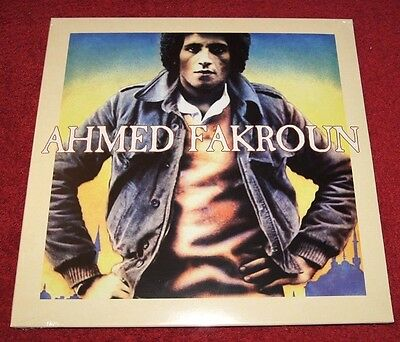 Ahmed Fakroun 1974-79 - Pmg Lp Reissue Disco Funk Afrobeat Lp New & Sealed!