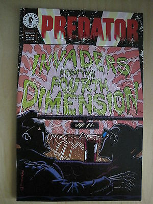 PREDATOR : Invaders From the 4th Dimension by Prosser,Somerville. 1 SHOT.DH.1994