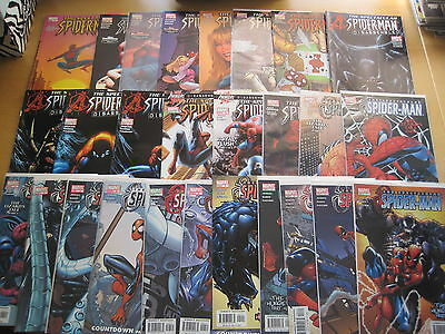SPECTACULAR SPIDERMAN : COMPLETE 27 ISSUE 2003 SERIES by JENKINS & RAMOS. MARVEL