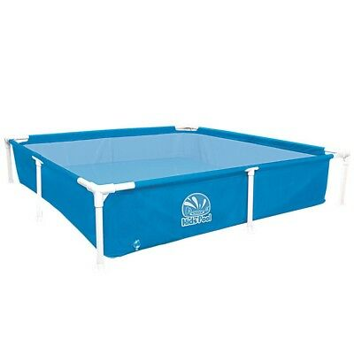 Jilong Kids Frame Pool 152 - square steel frame children´s pool, 152x152x33 cm,