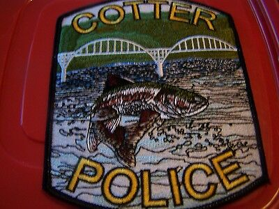 Cotter Arkansas Police patch