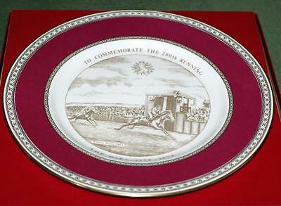 Vintage Collectable Horse Racing  Plate The Oaks Limited Edition Caverswall