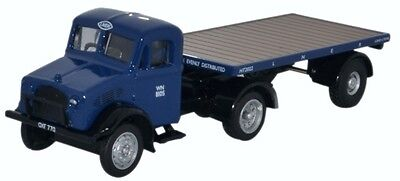 Bnib Oo Gauge Oxford 1:76 76Bd022 Bedford Ox Flatbed Trailer Lner Lorry