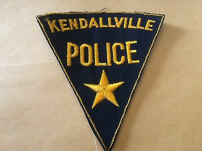 Old Original Kendallville Indiana Police patch