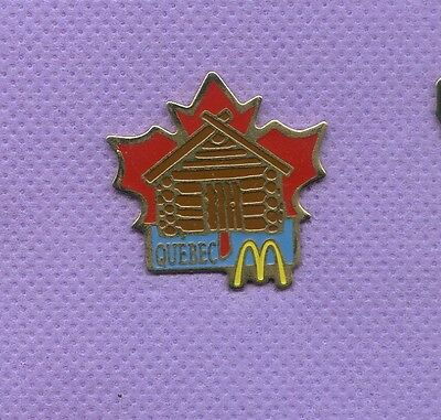 Pins  Mc Donald's  Quebec Kanada   Pc144