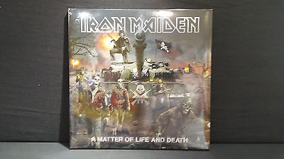 Iron Maiden – A Matter Of Life And Death  ' 2 X LP MINT & SEALED  2017