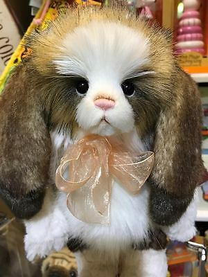 Annabelle Charlie Bears Rabbit, Brand New with Tags, 2017 Collection