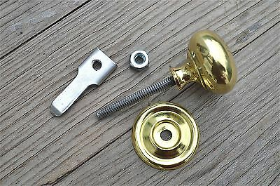 Quality English Made Brass Cupboard Cabinet Turn Knob Latch Door Latch Cb15