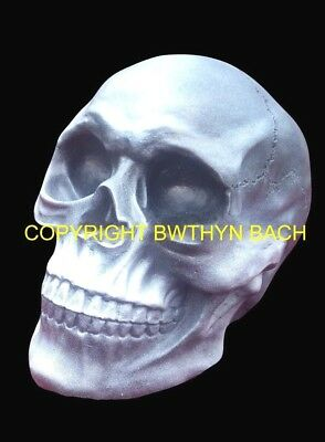 New Design Rubber Latex Mould Moulds Mold To Make Gothic Lifesize Skull Head #4