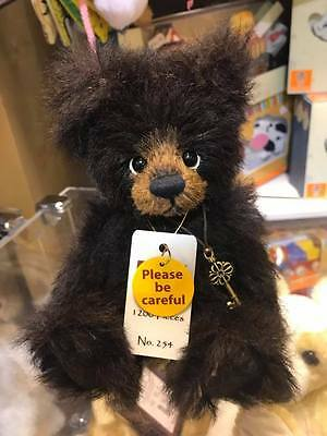 TRINKET Charlie Bears, Minimo Collection 2016. BNWT Limited Edition, #254