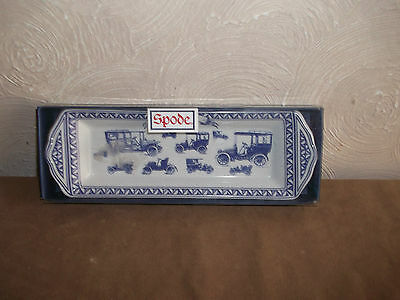 Spode Blue Room Oblong Dish Father ~~Boxed~~