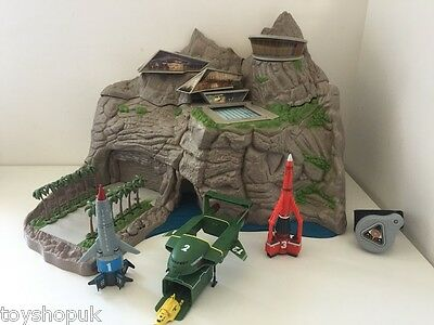 Thunderbirds Tracy Island Interactive Playset Vehicles Set 1 2 3 4 Toys Watch