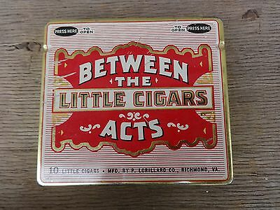 Between The Acts Little Cigars Tin Nice No Reserve