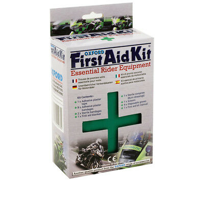 Oxford Under Seat Motorcycle Motorbike First Aid Kit