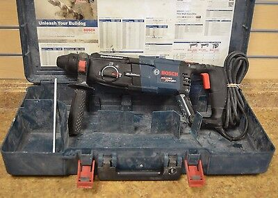 "*Bosch Bulldog Xtreme Max 1-1/8"" Corded Electric Rotary Hammer Free Shipping"