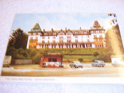 Postcard : The Highland Hotel - Strathpeffer - Scotland - Unused / Unposted