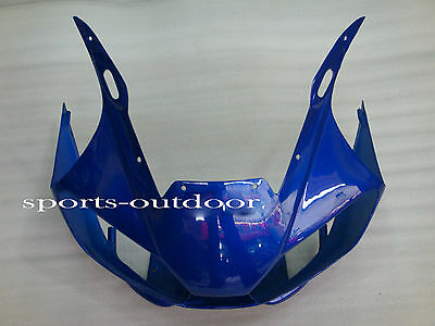 Front nose Fairings For YAMAHA YZF R6 1998-2002 1999 2000 2001 Injection Blue