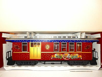 LGB #34815 Seasons Greetings Christmas Passenger/ Combine car-New with box&sleev