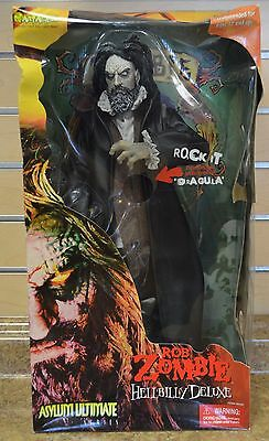 """*Art Asylum Ultimate Rob Zombie HellBilly Deluxe 85000 18"""" Figure New in Box"""