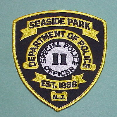 Seaside Park  New Jersey  Nj  Special Police Officer  Police Patch  Nice!