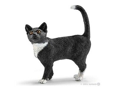 Cat Standing 2 3/16in Series Farm Schleich 13770