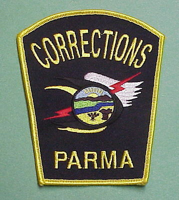 Parma  Ohio  Oh  Corrections  Police  Patch  Nice!!   Free Shipping!!!