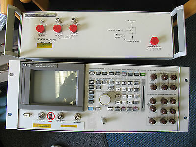 Agilent  HP  Keysight 8922M 010 GSM Mobile Station Test Set  83220a RF interface
