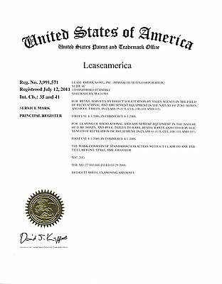 Lease America Trademark for sale, Lease, rent, buy, sell
