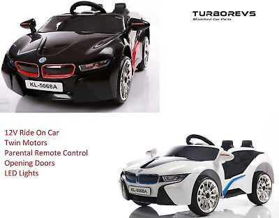New Kids 12V Electric Ride On Sports Coupe + Parental Remote Control