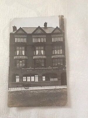 Ball And Percival Auctioneers Southport RP Postcard