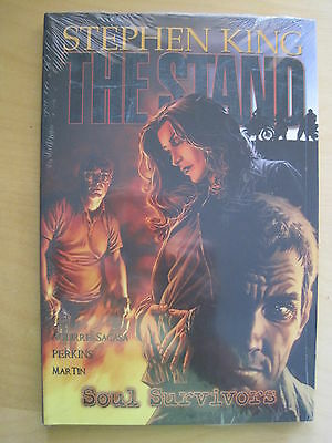 STEPHEN KING : The STAND : SOUL SURVIVORS by AGUIRRE-SACASA.NEW HB GRAPHIC NOVEL
