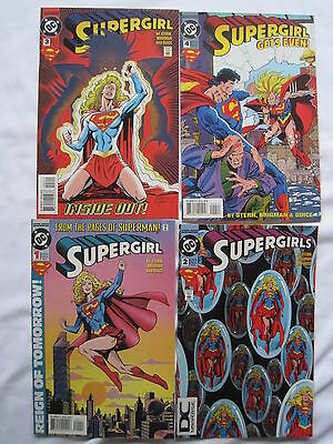 SUPERGIRL : COMPLETE 4 ISSUE 1994 SERIES by STERN, BRIGMAN & GUICE. DC 1994