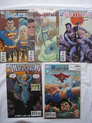 Superman / Supergirl : Maelstrom - Complete 5 Issue Mini Series. Palmiotti, Gray