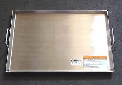 Large HEAVY DUTY 19.75 x 13 inch Stainless Steel Griddle BBQ, Stove Fire pit Top