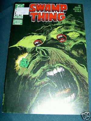 SWAMP THING  61. By ALAN MOORE, VEITCH,  ALCALA.DC.1987