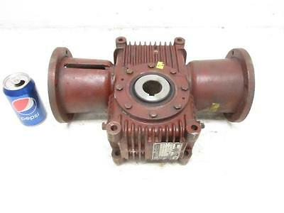Ex-Cell-O Model #MSHV25-W9A Cone Drive Gear Box Speed Reducer 25:1 Ratio Gearbox