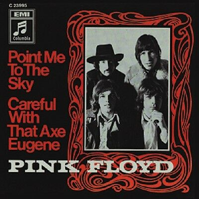 Pink Floyd Photo Quality Magnet: Point me to Sky