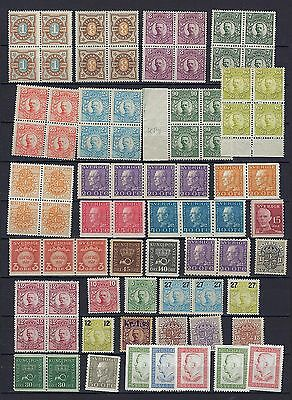 Sweden Small Lot # 10 MNH