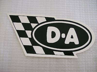 Collectible Nascar  Drag Racing D-A Racing Oil Company Racing Decal