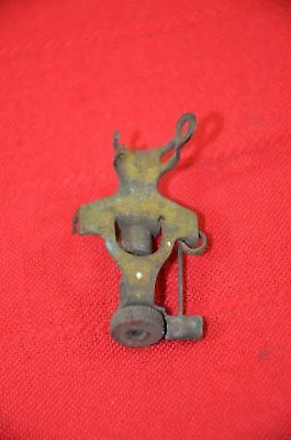 Antique Brass Carbide Lamp Part Miners Coal Mining Repair Restore Replace #1457
